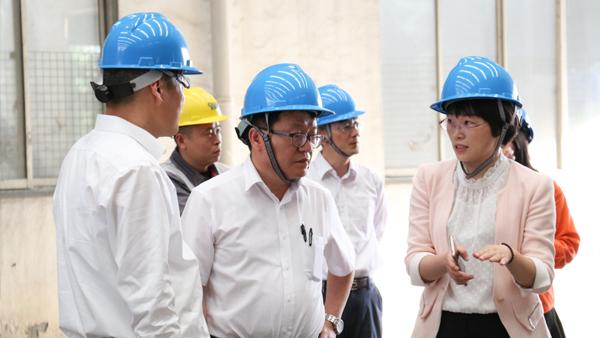 张家港浦项不锈钢总经理宋庆和来访雄狮加工