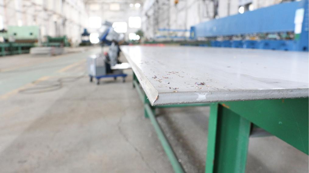 不锈钢成型加工刨边设备